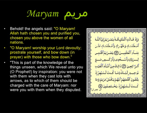 Dear Maryam